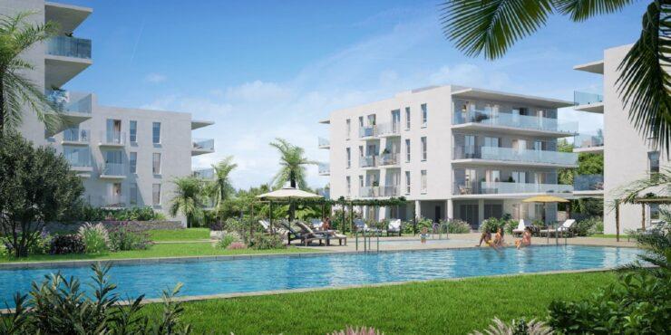 Mallorca Neubau- Penthaus in Strand und Yachthafen Nähe